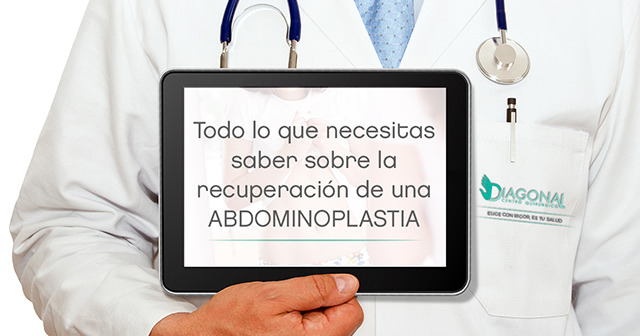recuperación de abdominoplastia