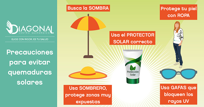 Consejos para protegerte del sol